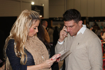 Chantelle Houghton Alex Reid The Baby Show 2012