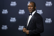 Clarence Seedorf of the Netherlands arrives for The Best FIFA Football Awards 2016 on January 9, 2017 in Zurich, Switzerland.