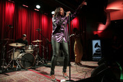 Estelle performs at The Drop: Estelle at The GRAMMY Museum on December 03, 2018 in Los Angeles, California.