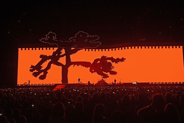 The Edge U2 Joshua Tree Tour 2017 - East Rutherford, New Jersey
