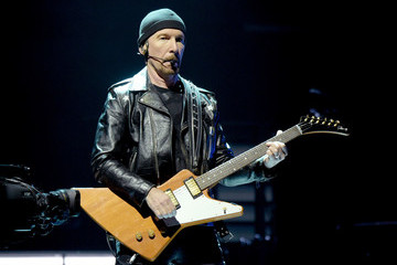 The Edge U2 Performs At The Forum