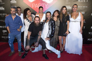 Rafael Amargo (C) attends the Global Gift Party Marbella on July 15, 2017 in Marbella, Spain.