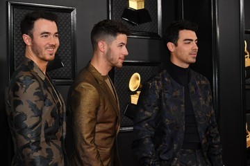 The Jonas Brothers 62nd Annual GRAMMY Awards - Arrivals