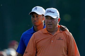 Tiger Woods Mark O'Meara The Masters - Preview Day 1