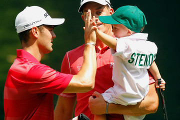 Karl Stenson The Masters - Preview Day 3
