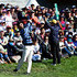Danny Lee Photos - Danny Lee of the International Team hits out of the rough on the 18th hole during the Friday four-ball matches at The Presidents Cup at Jack Nicklaus Golf Club Korea on October 9, 2015 in Songdo IBD, Incheon City, South Korea - The Presidents Cup - Round Two