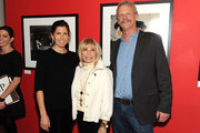 Amanda Sinatra, singer Nancy Sinatra and Morrison Hotel owner Peter Blachley attend The Sinatra Experience at Morrison Hotel Gallery on March 5, 2015 in New York City.