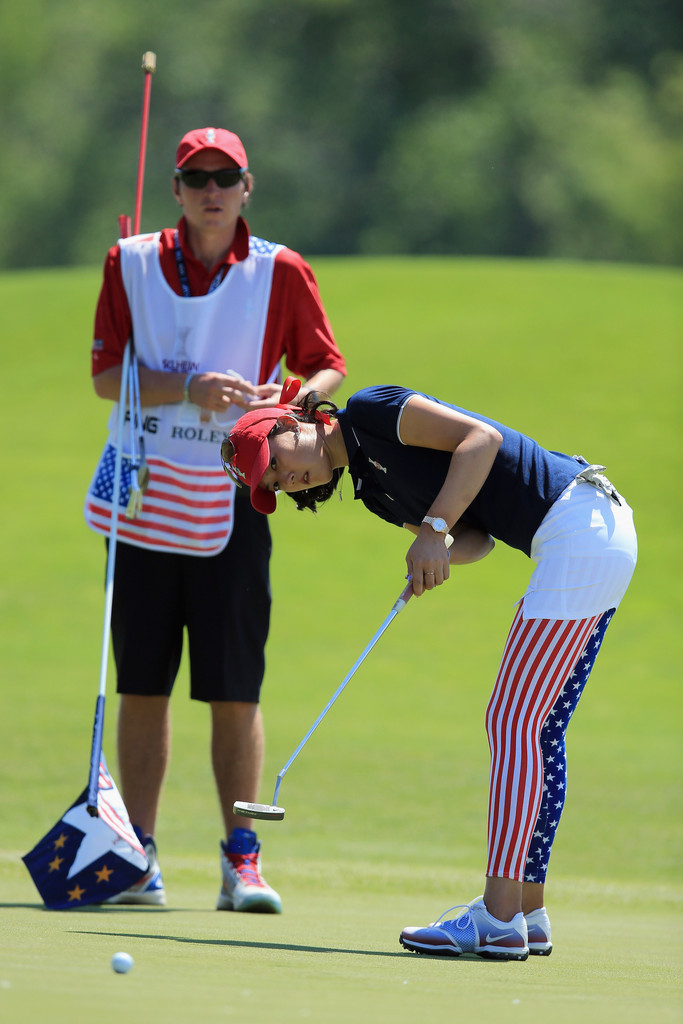 Michelle Wie Photos Photos - The Solheim Cup - Preview Day
