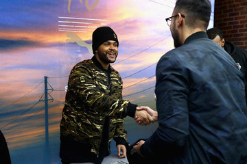 The Weeknd The Weeknd Attends Pop-Up Shop Fan Event To Celebrate PUMA x XO Collection