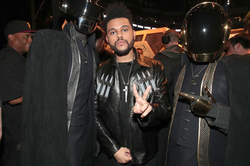 The Weeknd The 59th GRAMMY Awards -  Backstage