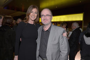 Director Kathryn Bigelow and Steve Pond, Awards Editor for TheWrap attend TheWrap 4th Annual Pre-Oscar Party at Four Seasons Hotel Los Angeles at Beverly Hills on February 20, 2013 in Beverly Hills, California.
