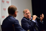"""TheWrap's Steve Pond and Director Robert Zemeckis participate in a Q&A session following TheWrap's Awards Season Screening Series of """"Flight"""" at Landmark Theater's Regent on December 12, 2012 in Los Angeles, California."""