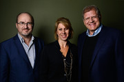 """(L-R) TheWrap's Steve Pond, CEO of TheWrap Sharon Waxman and Director Robert Zemeckis attends TheWrap's Awards Season Screening Series of """"Flight"""" at Landmark Theater's Regent on December 12, 2012 in Los Angeles, California."""