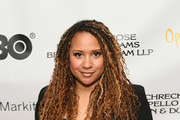 "Tracie Thoms attends ""In Their Own Words"" the 13th Annual Play Reading for Opening Act at New World Stages on April 02, 2019 in New York City."