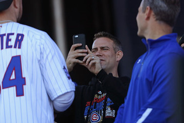 Theo Epstein Chicago Cubs Victory Celebration