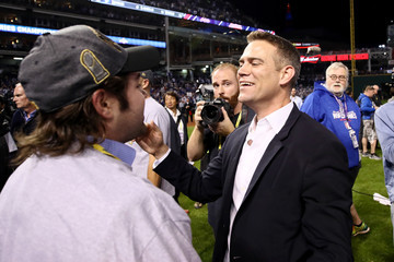 Theo Epstein World Series - Chicago Cubs v Cleveland Indians - Game Seven