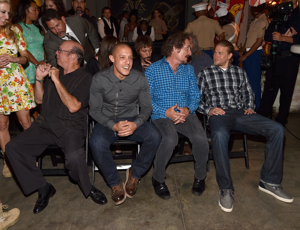 'Sons of Anarchy' Cast Hosts a Boot Bash
