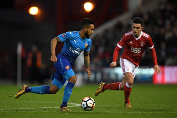 Theo Walcott Nottingham Forest v Arsenal - The Emirates FA Cup Third Round