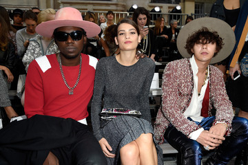 Theophilus London Front Row at Chanel