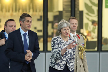Theresa May NATO Summit In Brussels - Day Two