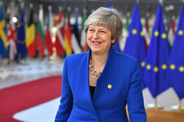 Theresa May European Best Pictures Of The Day - April 10, 2019