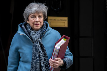 Theresa May European Best Pictures Of The Day - April 03, 2019
