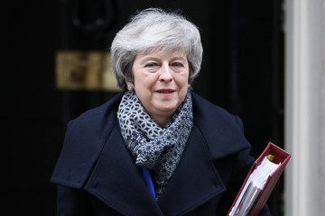 Theresa May European Best Pictures Of The Day - January 16, 2019