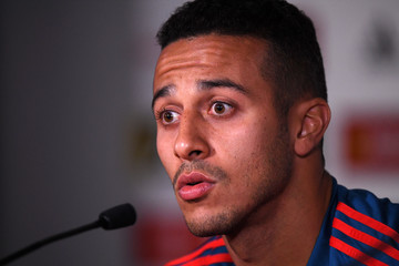 Thiago Alcantara Spain Training Session