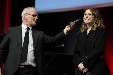Thierry Fremaux Tribute To The Brothers Jean-Pierre Dardenne And Luc Dardenne At The 12th Film Festival Lumiere In Lyon
