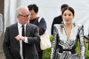 Thierry Fremaux 'Rendez Vous With Zhang Ziyi' Photocall -  The 72nd Annual Cannes Film Festival