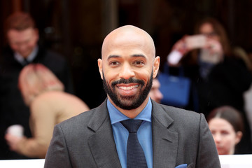 Thierry Henry The Prince Of Wales Attends 'The Prince's Trust' Awards