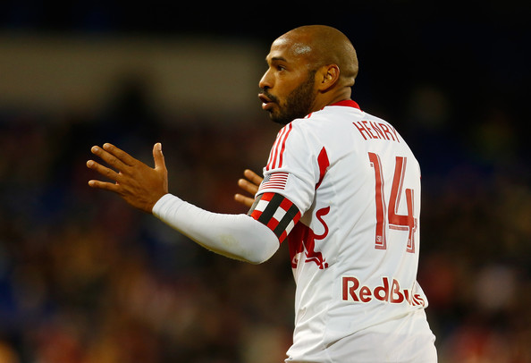 Thierry Henry - Philadelphia Union v New York Red Bulls