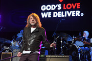 Robert Plant performs onstage during the Third Annual Love Rocks NYC Benefit Concert for God's Love We Deliver on March 07, 2019 in New York City.