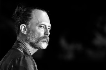 Thom Yorke Black And White Alternative Views - 75th Venice Film Festival