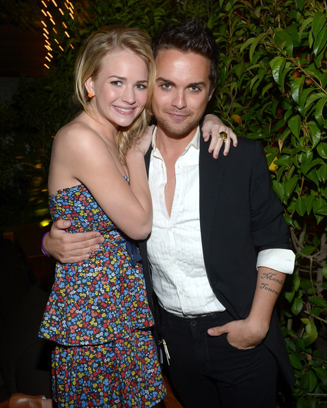 NYLON Magazine And Tommy Girl Celebrate The Annual May Young Hollywood Issue - Party [tommy girl celebrate the annual may young hollywood issue,event,fun,formal wear,smile,party,thomas dekker,britt robertson,tommy girl annual,hollywood roosevelt hotel,california,nylon magazine,party,l,young hollywood issue party]