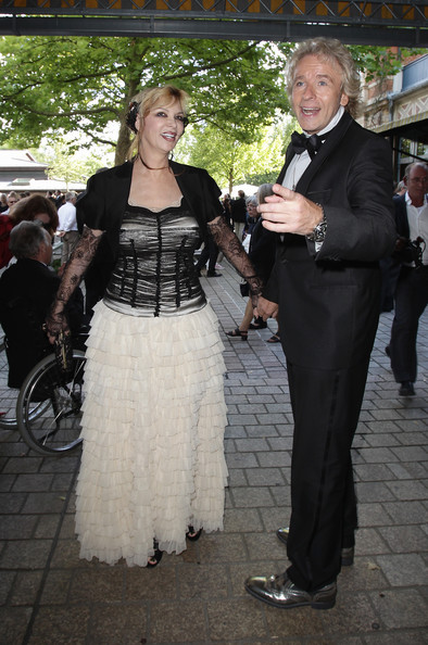 ... Richard Wagner opera festival on July 25, 2010 in Bayreuth, Germany