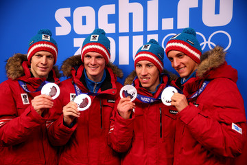 Thomas Morgenstern Winter Olympics: Medal Ceremonies