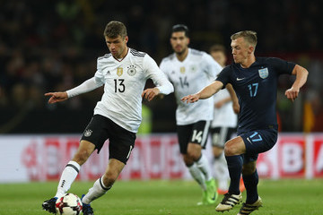 Thomas Muller Germany v England - International Friendly