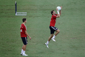 Thomas Muller ICC Singapore Training Session