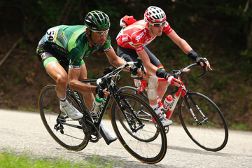 Thomas Voeckler Le Tour de France 2014 - Stage Nine
