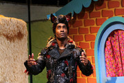 "Simon Webbe performs on stage during a photocall for ""The Three Little Pigs"" at Palace Theatre on August 5, 2015 in London, England."