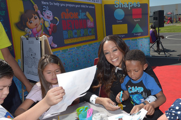 Tia Mowry Tia Mowry-Hardrict And Nickelodeon's Nick Jr Beyond The Backpack Partner With Compton Unified School District For Kindergarten Registration Event