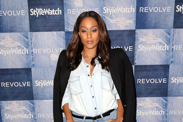 Tia Mowry Arrivals at the People StyleWatch Denim Event
