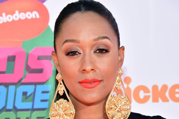 Tia Mowry Arrivals at the Nickelodeon Kids' Choice Sports Awards — Part 2