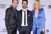 """(L-R) Actor Dan Stevens, Director Ido Fluk and actress Malin Akerman attend the """"The Ticket"""" Premiere during the 2016 Tribeca Film Festival at SVA Theatre 2 on April 16, 2016 in New York City."""