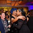 Tiffany Haddish and Flame Monroe Photos