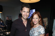 Actors Drew Seeley (L) and Amy Paffrath at the Tiffany HardWear Los Angeles Preview with The Art of Elysium at Elysium Art Salons on April 26, 2017 in Los Angeles, California.