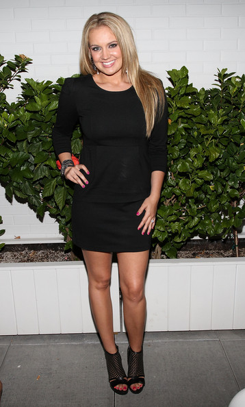 Tiffany Thornton Tiffany Thornton attends the Caravan celebration of Fashion's Night Out at Sky Room on September 10, 2010 in New York City.