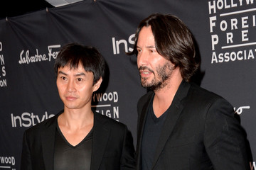 Tiger Chen Arrivals at the TIFF HFPA/InStyle Party