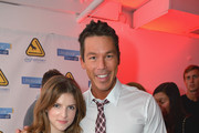 Anna Kendrick and David Bromstad attends the TigerDirect.com And Intel's Holiday Tech Bash on November 20, 2012 in Miami, Florida.